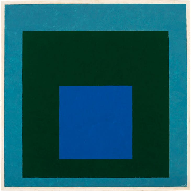 Homage to the Square, Renewed Hope (1951), Josef Albers.
