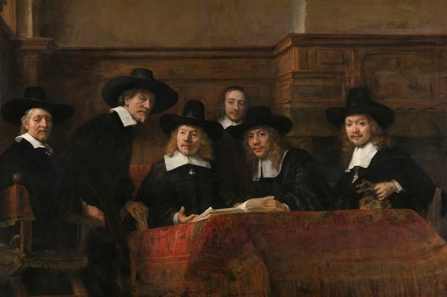 The Wardens of the Amsterdam Drapers' Guild (known as The Syndics), Rembrandt