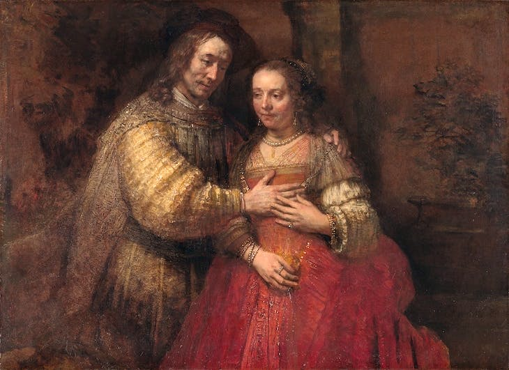Isaac and Rebecca (known as The Jewish Bride), Rembrandt