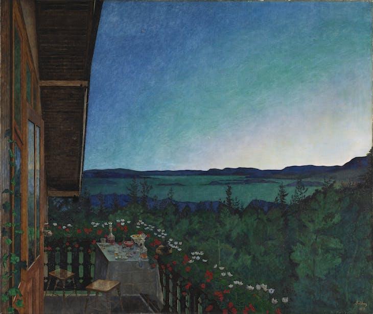 Summer Night, Sohlberg