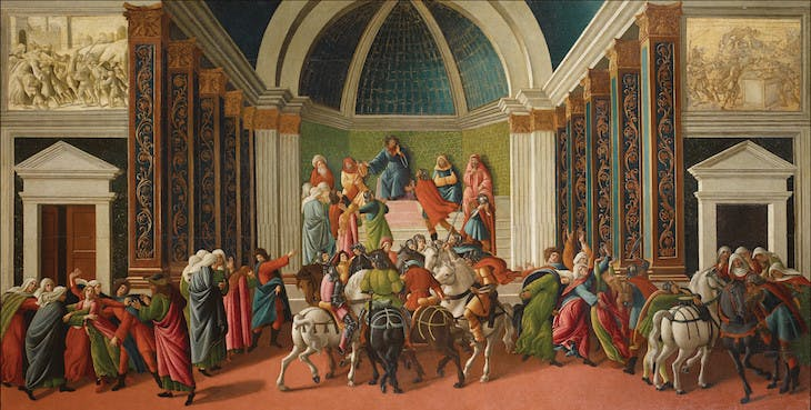 The Story of Virginia, Botticelli