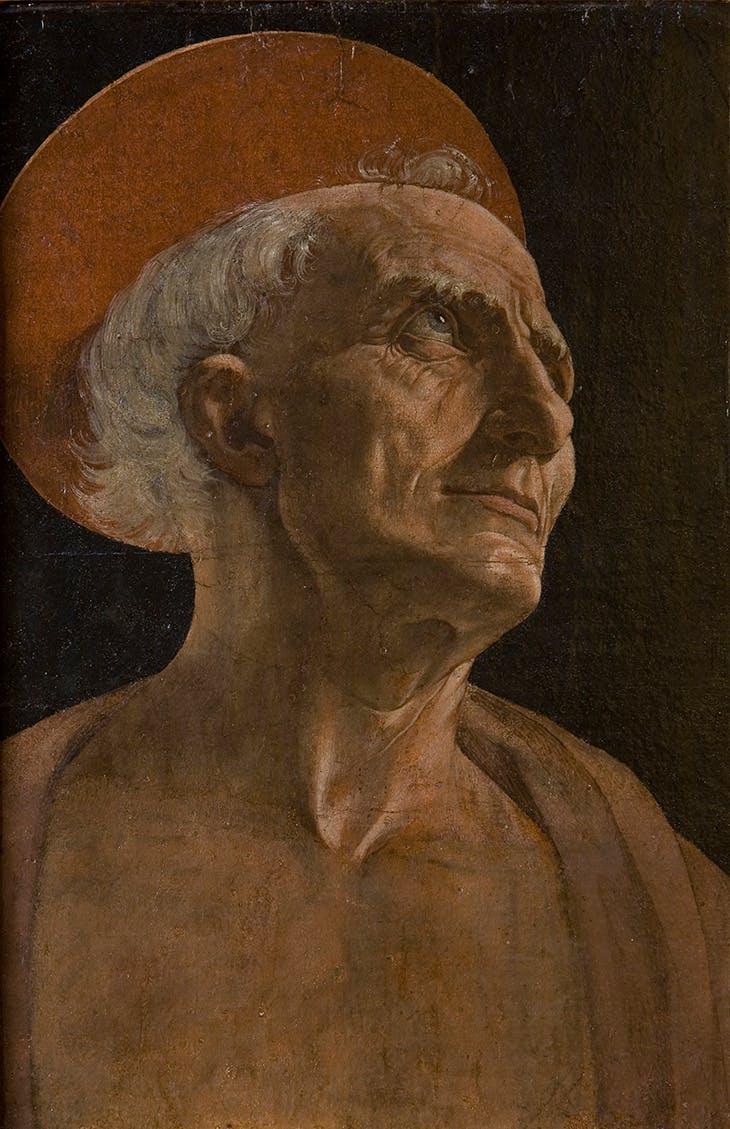 St. Jerome (c. 1465–70), Andrea del Verrocchio. Uffizi Gallery.