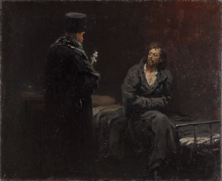 Refusal of Confession, Ilya Repin