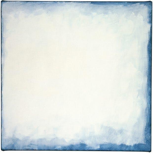 Series #27 (White) (2003), Robert Ryman.