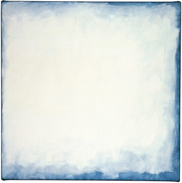 Series #27 (White) (2003), Robert Ryman.