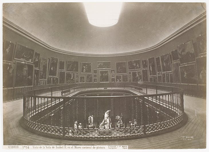 The Queen Isabel II gallery in the Museo del Prado (photograph: Jean Laurent, 1879)
