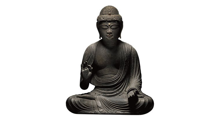 Amida Buddha (11th–12th century), Japan.