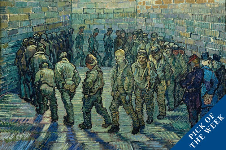 Prisoners Exercising, Van Gogh