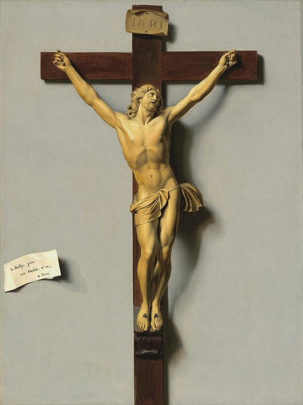 Trompe-l'oeil Crucifix of Ivory and Wood, (1812), Louis-Léopold Boilly. Jean-Luc Baroni, London, Photo: courtesy the owner