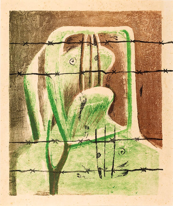 Spanish Prisoner (1939), Henry Moore. © The Henry Moore Foundation
