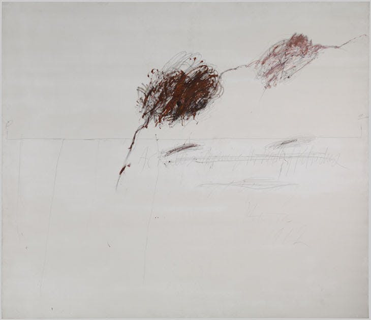 Achilles Mourning the Death of Patroclus, Twombly