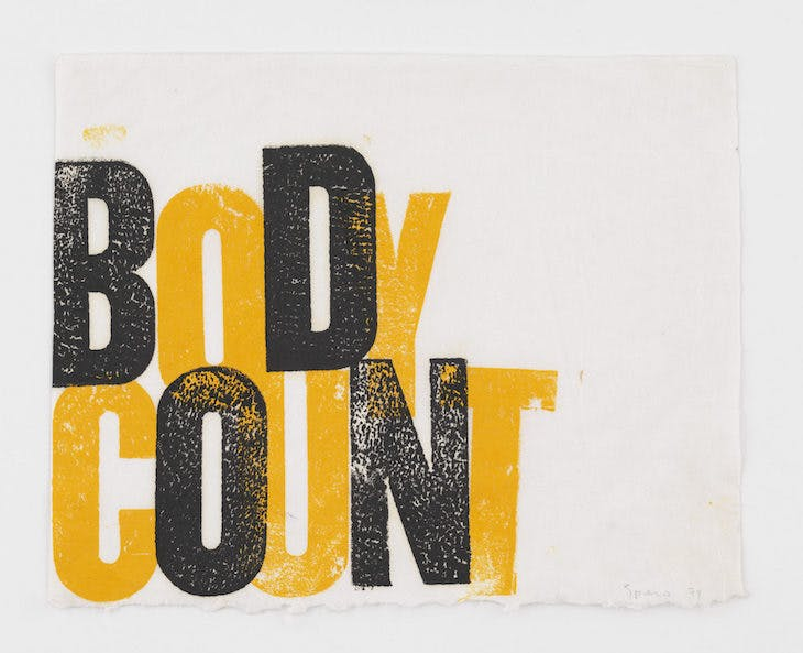 Body Count (1974), Nancy Spero.