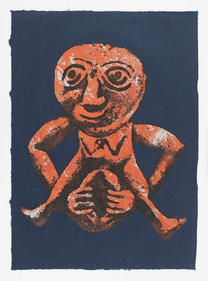 Sheela-Na-Gig (1991), Nancy Spero.