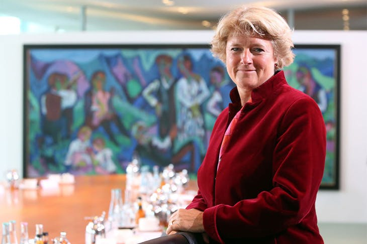 Monika Grütters, the federal government commissioner for culture and the media in Germany.