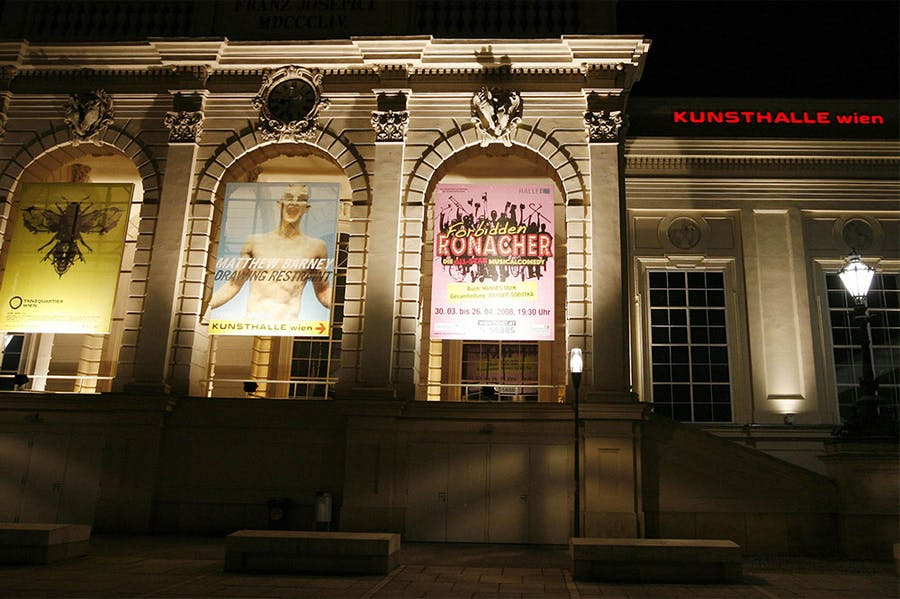 The Kunsthalle Wien.