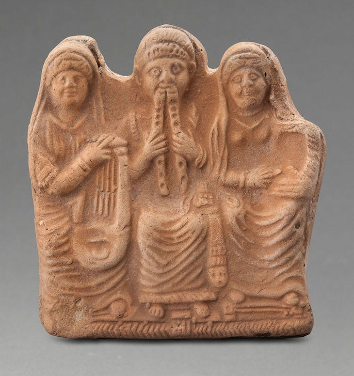 Group of musicians (late 1st century BC), Petra.