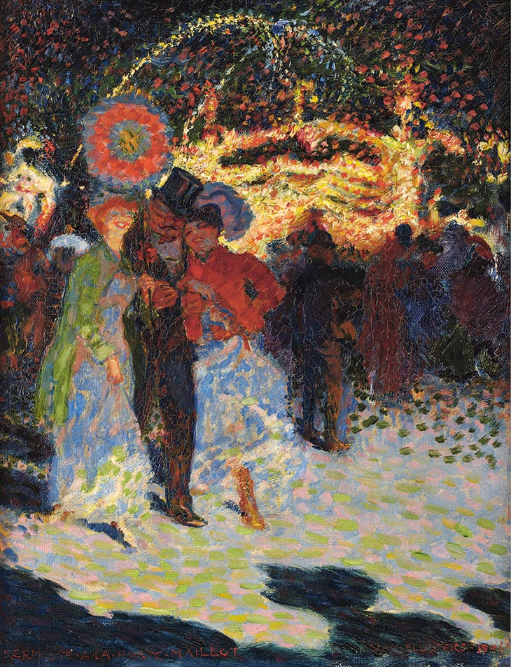 Kermesse à la Porte Maillot (1906), Jan Sluijters. Private collection