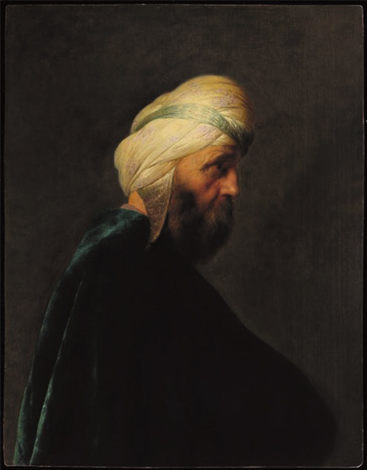 Man with a Turban (c. late 1620s), Jan Lievens.