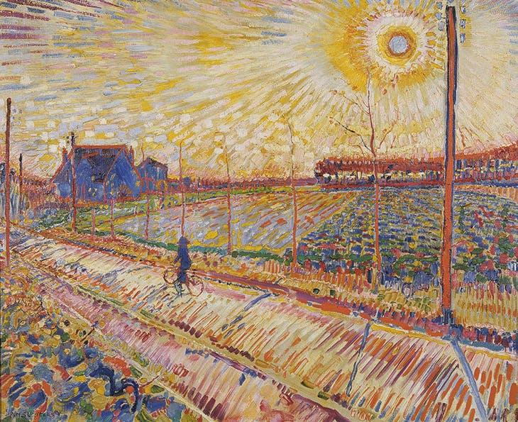 Laren Landscape with October Sun (1910), Jan Sluijters. Stedelijk Museum Schiedam; courtesy Pictoright Amsterdam 2018; © Jan Sluijters