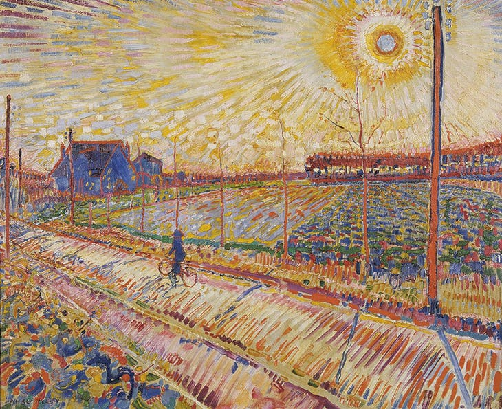 Laren Landscape with October Sun (1910), Jan Sluijters. Stedelijk Museum Schiedam; courtesy Pictoright Amsterdam 2018; © Jan Sluijters