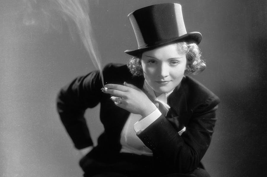 Tuxedo worn by Marlene Dietrich in the film 'Morocco' (1930)