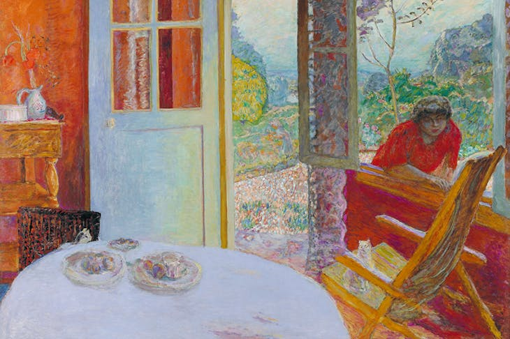 Dining Room in the Country (detail; 1931), Pierre Bonnard. Minneapolis Institute of Art.