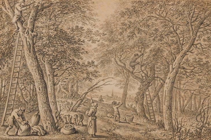 Fruit Harvest (September) (1670), Herman Saftleven. Onno van Seggelen (€55,000)