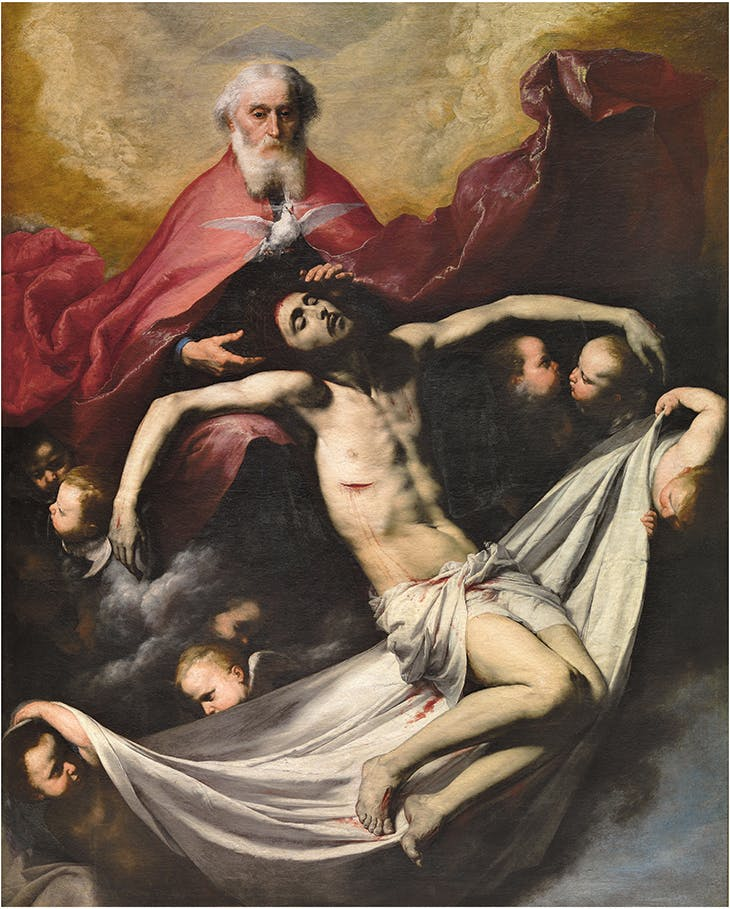 The Trinity (c. 1635), Jusepe de Ribera. Museo Nacional del Prado, Madrid