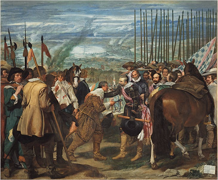 The Surrender of Breda (c. 1635), Diego Velázquez. Museo Nacional del Prado, Madrid