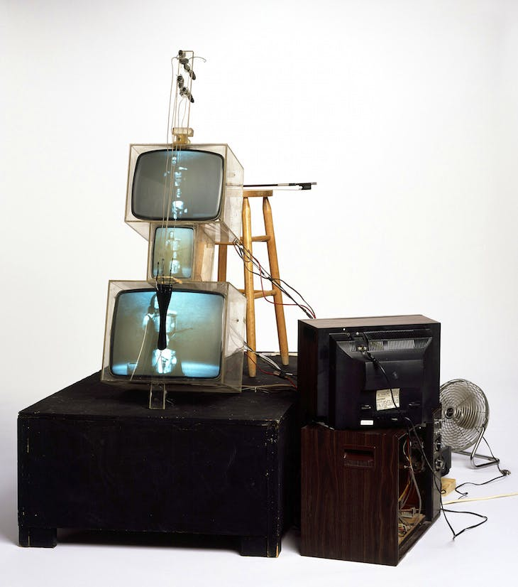 TV Cello, Paik