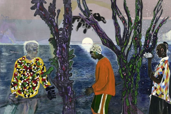 Two Trees, Peter Doig