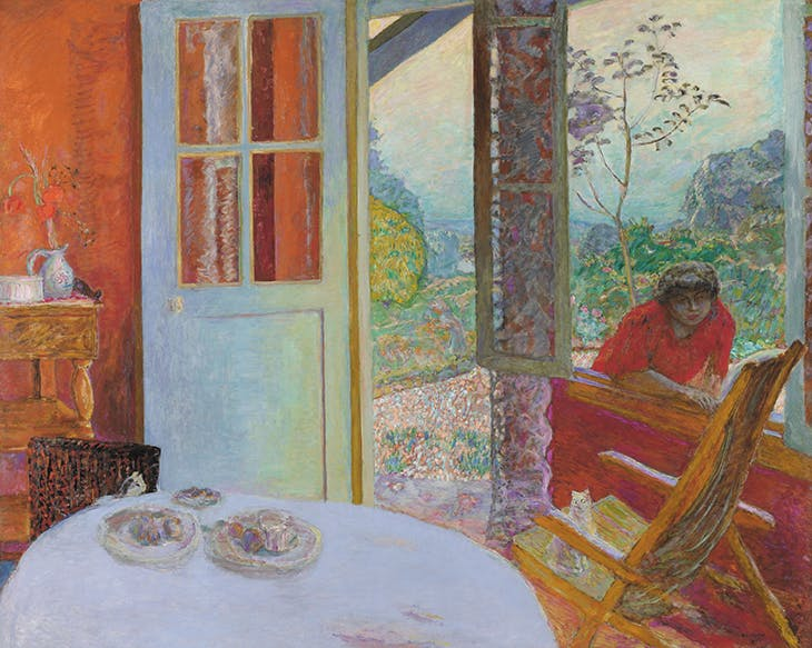 Dining Room in the Country (1931), Pierre Bonnard.