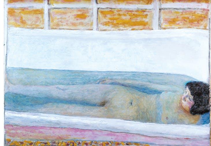 The Bath (1925), Pierre Bonnard.