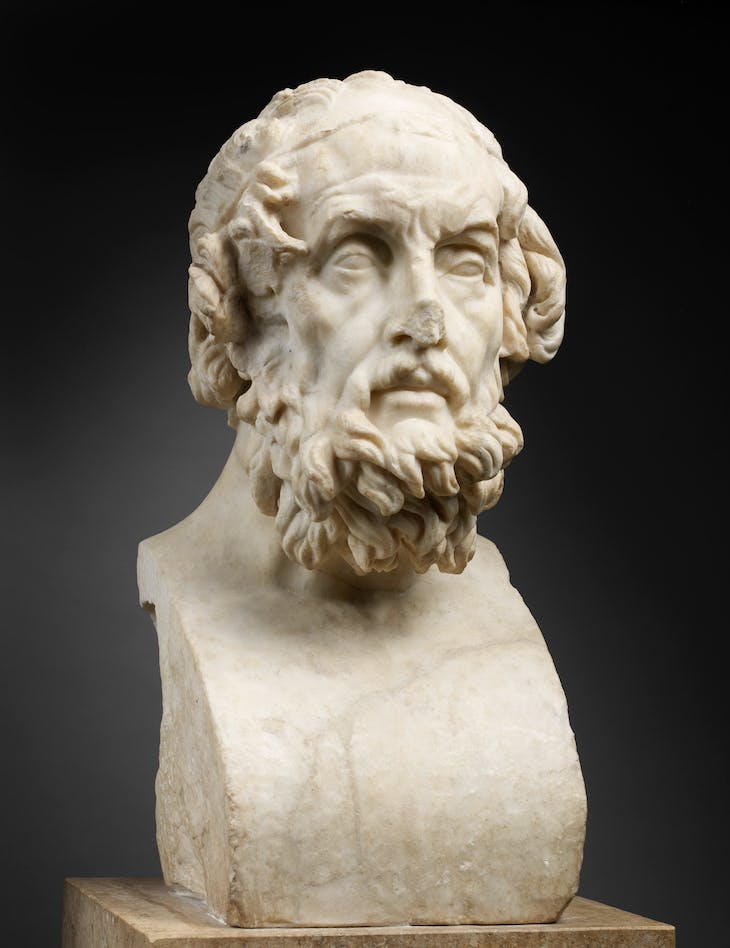 Homer (2nd century AD, after an original of around 150 BC), Roman.