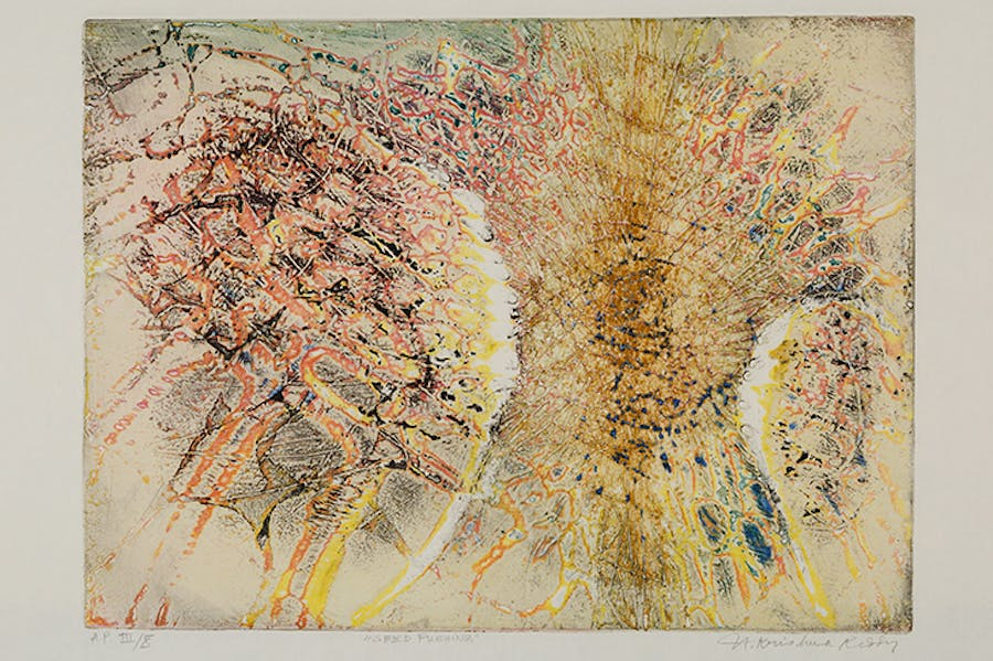 Seed Pushing (1961), Krishna Reddy.