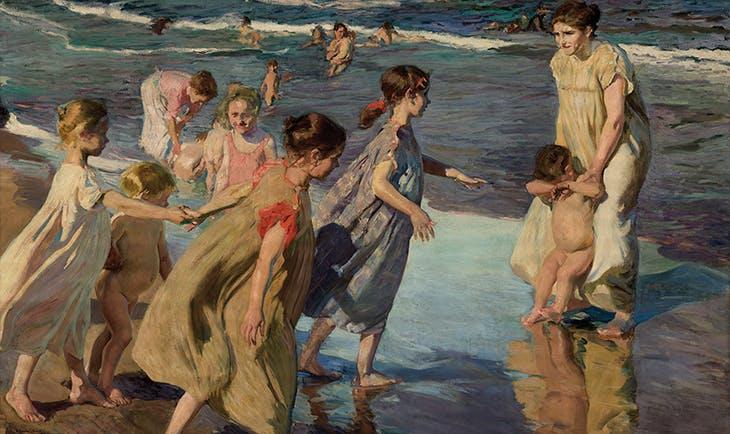 Summer (1904), Joaquín Sorolla.
