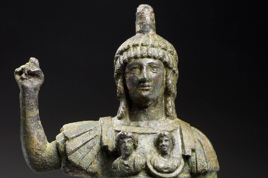 Statuette of Jupiter Heliopolitanus (2nd–3rd century AD), Area of Tartus.