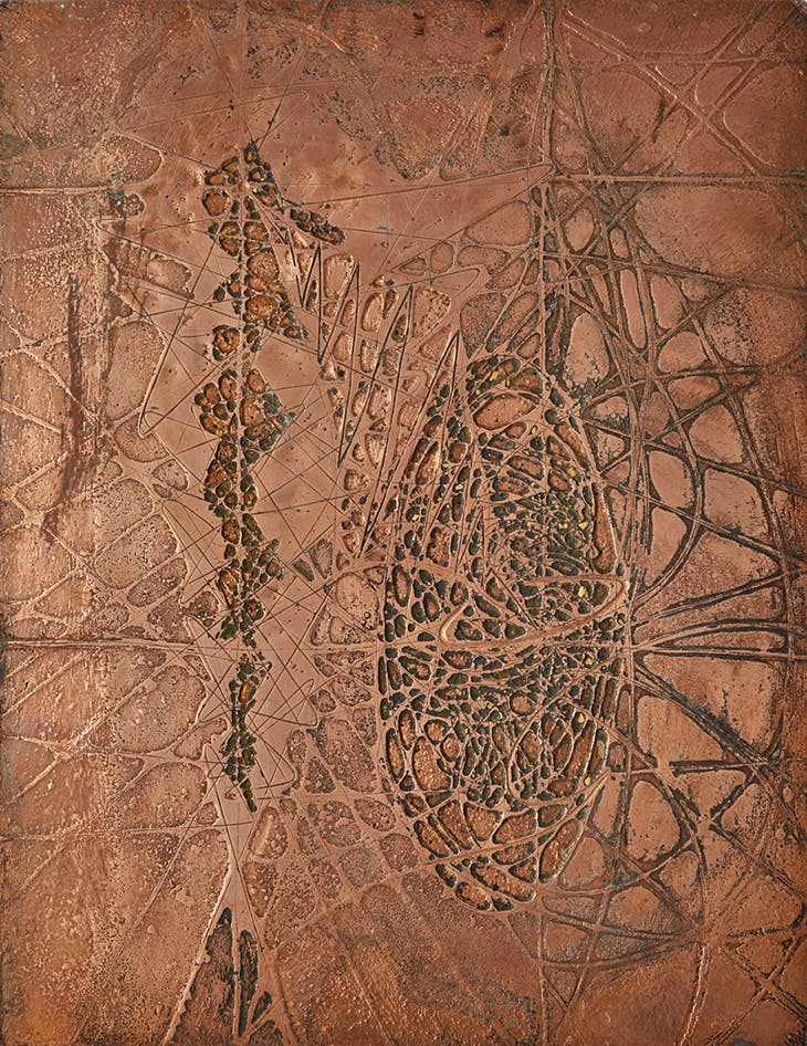 Two Forms in One (1954), Krishna Reddy.