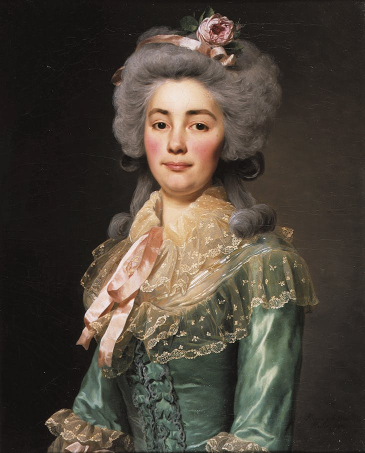 Young Lady with a Pink Ribbon, Roslin
