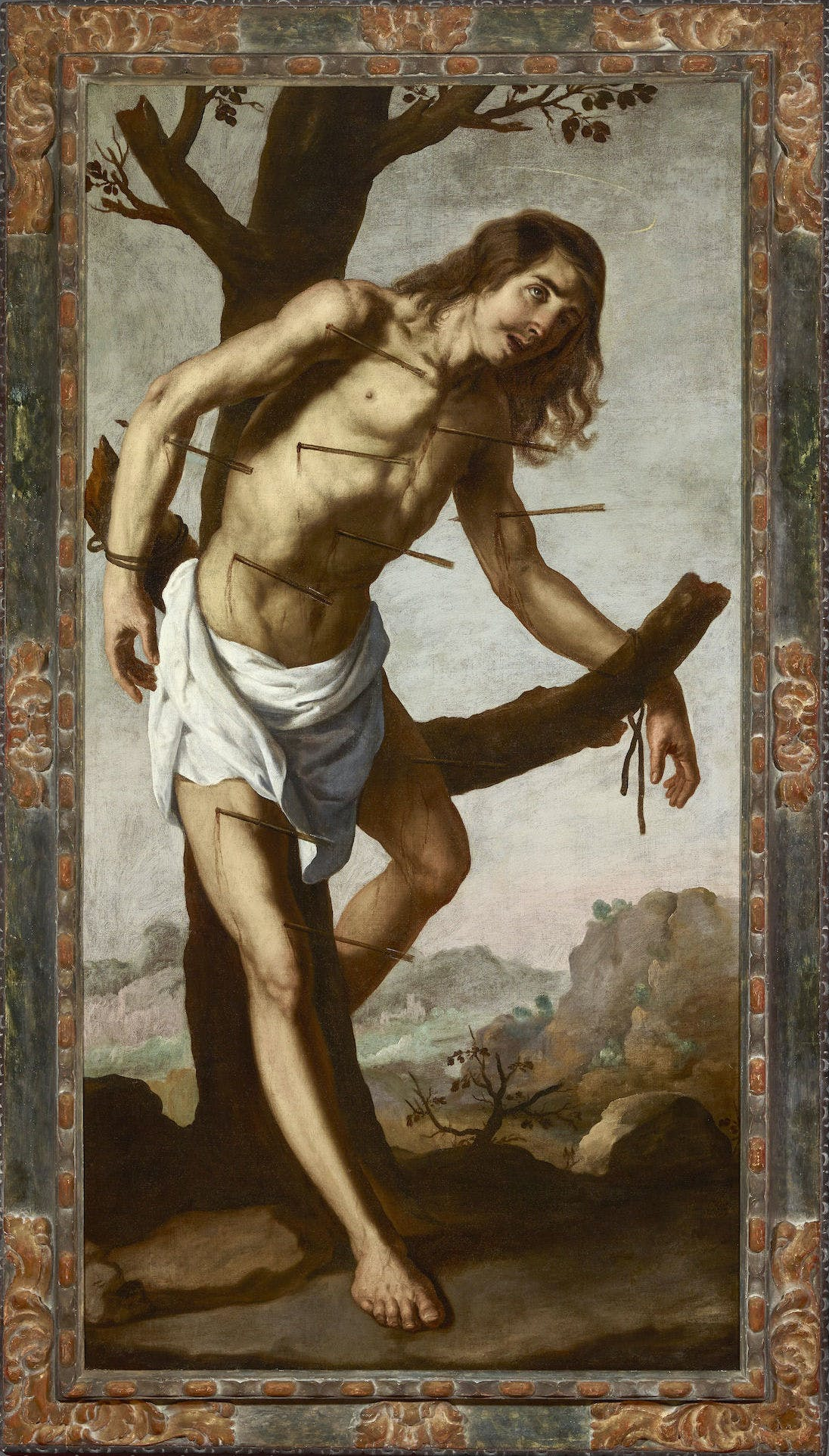 The Martyrdom of Saint Sebastian, Zurbarán