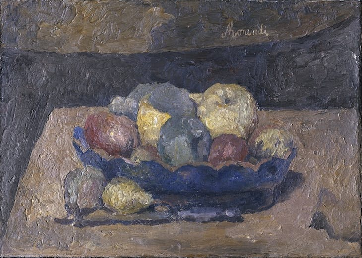 Still Life with Fruit, Giorgio Morandi