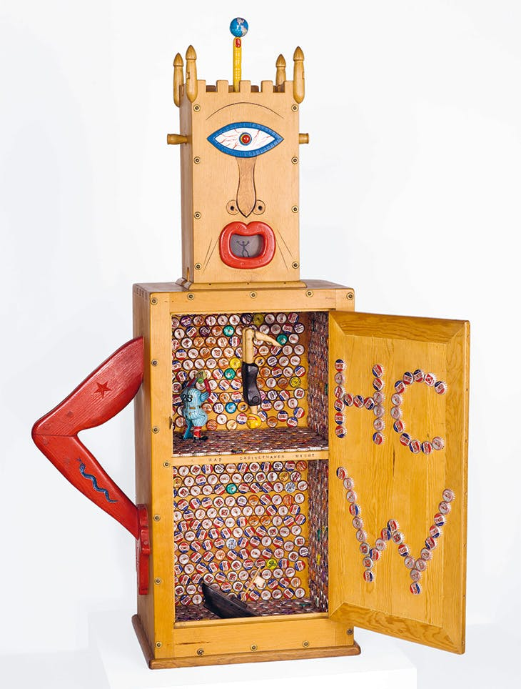 Memorial to the Idea of Man If He Was an Idea (1958), H.C. Westermann. Museum of Contemporary Art Chicago.