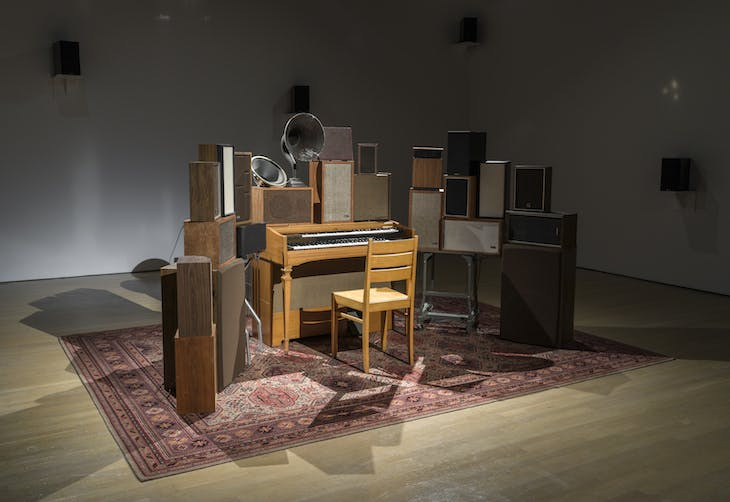 The Poetry Machine (2017), Janet Cardiff and George Bures.