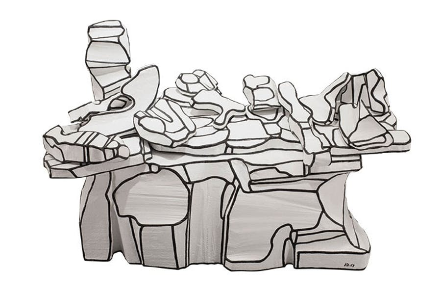 Comptoir amoncellement (Laden Counter) (1968), Jean Dubuffet. Pace Gallery (price on application) Photo: Tom Barrett; © 2019 Artists Rights Society (ARS), New York/ADAGP, Paris