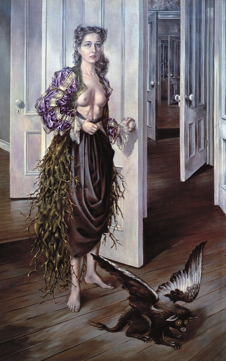 Birthday (1942), Dorothea Tanning. Philadelphia Museum of Art.