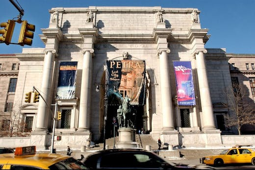The American Museum of Natural History photographed in 2004.