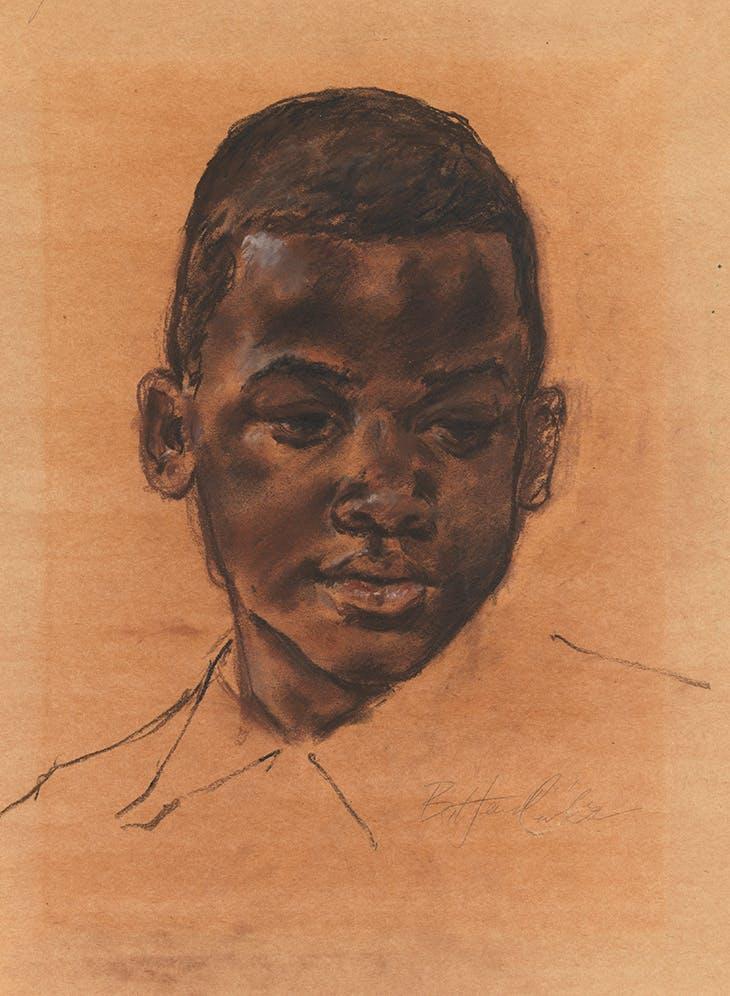 Head of a boy (n.d.), Barkley L. Hendricks.