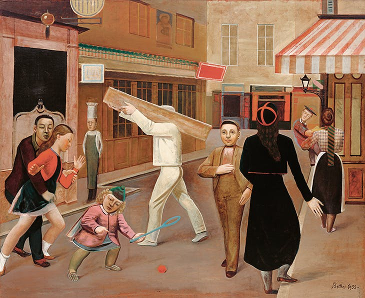 The Street (1933), Balthus. Museum of Modern Art, New York.