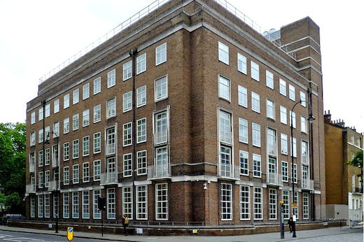 The Warburg Institute in Bloomsbury, London.
