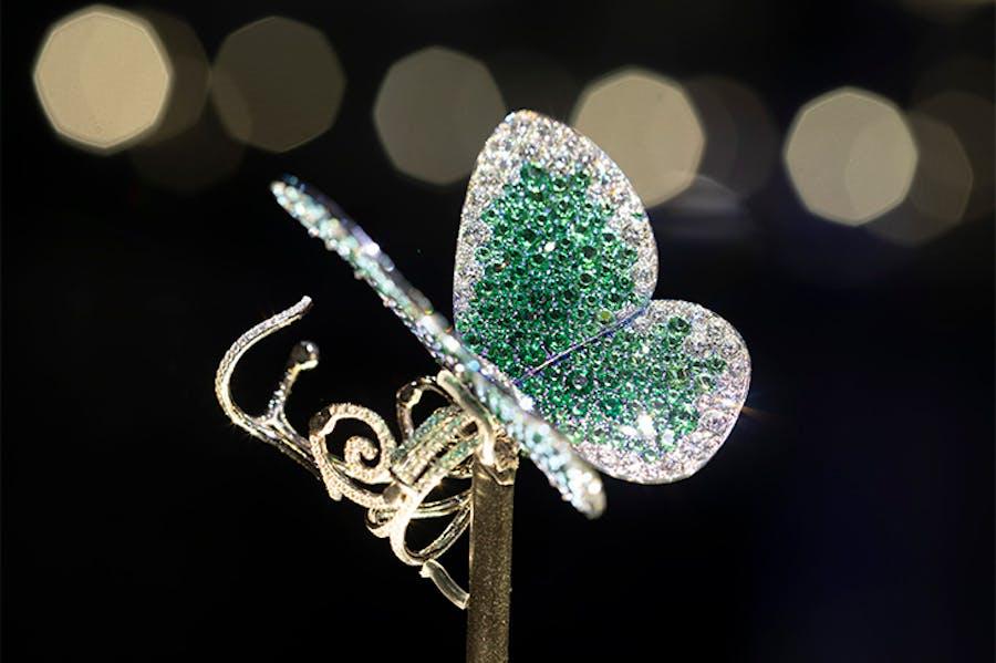 'Papillon' ring designed by G (Glenn Spiro).